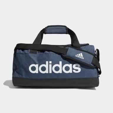 Training Blue Essentials Logo Duffel Bag Extra Small