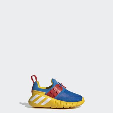 Infants ไลฟ์สไตล์ สีน้ำเงิน รองเท้า adidas RapidaZen x LEGO®