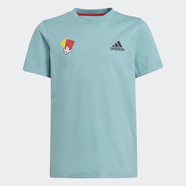 Camiseta Estampada Mascot Number Verde Meninos Futebol
