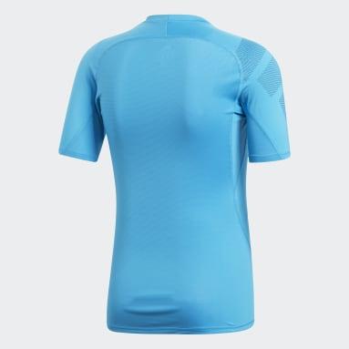 Men's Training Turquoise Alphaskin Badge of Sport Tee