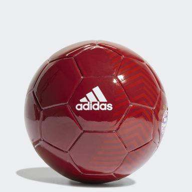 FC Bayern Home Mini Ball Czerwony
