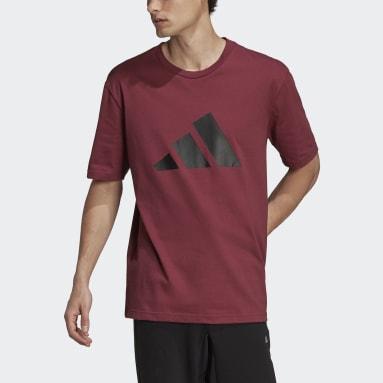 Camiseta adidas Sportswear Future Icons Logo Graphic Burgundy Hombre Sportswear