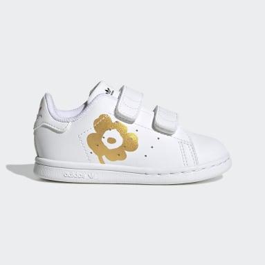 Kinder Originals Marimekko Stan Smith Schuh Weiß