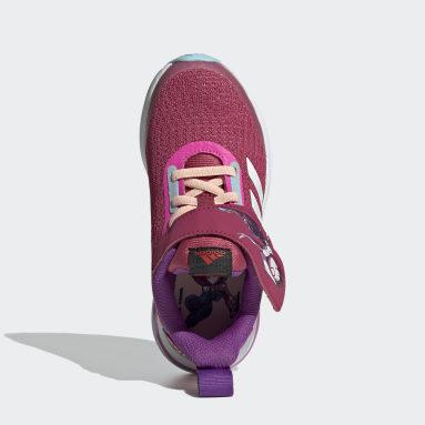 Kids Running Pink FortaRun Super Hero Shoes