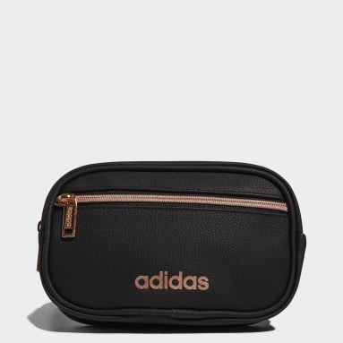 Training Black PU Leather Waist Pack
