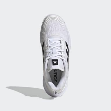 Kvinder Netball Hvid Novaflight Volleyball sko