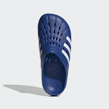 Swim Blue Adilette Clogs