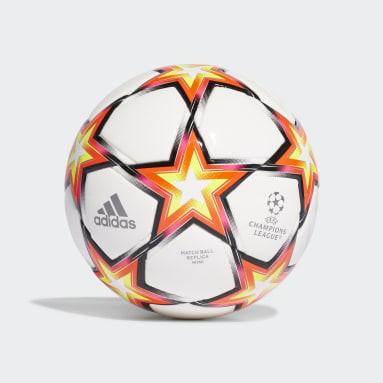 Football White UCL Mini Pyrostorm Ball