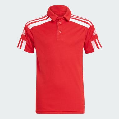 Polo Squadra 21 Rojo Niño Fútbol