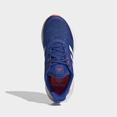Chaussure EQ21 Run Bleu Enfants Course