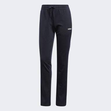 Women's Essentials Blue Essentials Tricot Open Hem Pants