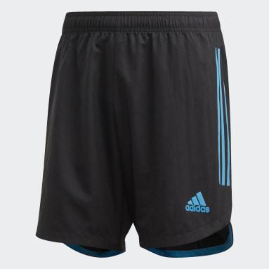 Shorts Condivo 20 Negro Hombre Fútbol