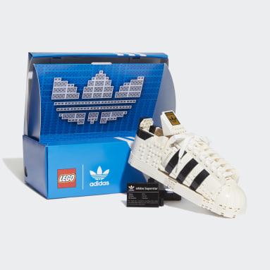 Originals LEGO adidas Originals Superstar Schuh Weiß