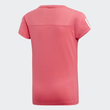 T-shirt Equipment Rose Filles Yoga
