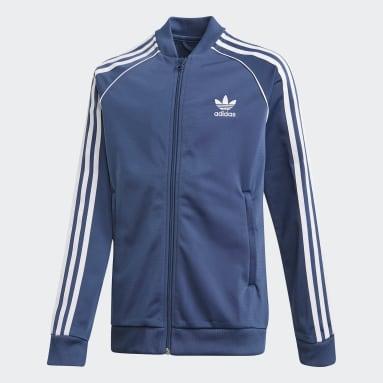 Youth Originals Blue SST Track Jacket