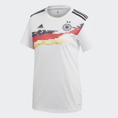 Maillot Allemagne Domicile blanc Femmes Soccer