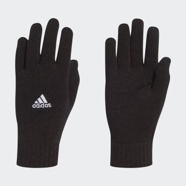 Soccer Black Tiro Gloves