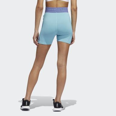 Ženy Cvičení A Trénink zelená Legíny Techfit Badge of Sport Short