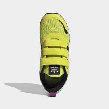 Kids Originals Yellow ZX 700 HD Shoes