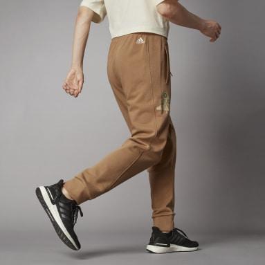 Muži Volný Čas hnědá Kalhoty Terra Love O-Shape
