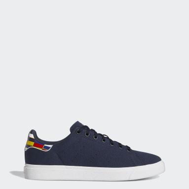 Men's Originals Blue Stan Smith Vulc Shoes