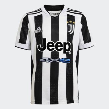 Camisa 1 Juventus 21/22 Branco Meninos Futebol