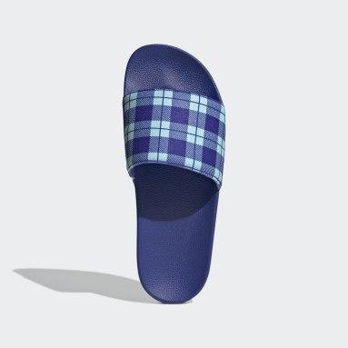 Originals Blue Adilette Slides