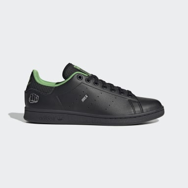 Originals Black Marvel Stan Smith Shoes