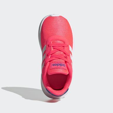 Tenis Lite Racer 2.0 (UNISEX) Rosa Niño Diseño Deportivo