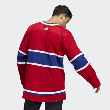 Maillot Domicile Canadiens Authentique rouge Hommes Hockey