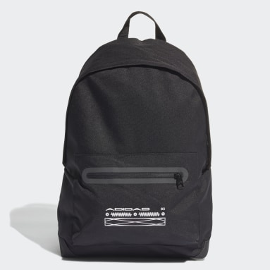 Lifestyle Black Classic Fabric Tech Backpack