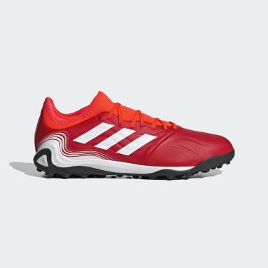 ผู้ชาย ฟุตบอล สีแดง รองเท้าฟุตบอล Copa Sense.3 Turf