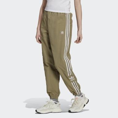 Pantalon de survêtement Adicolor Classics Lock-Up vert Femmes Originals