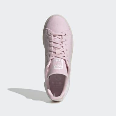 Women's Originals Pink Stan Smith Primeblue Shoes