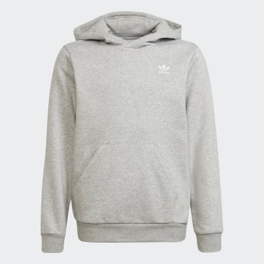 Youth Originals Grey Adicolor Hoodie