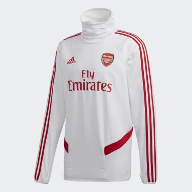 Sudadera Warm Arsenal Blanco Hombre Fútbol