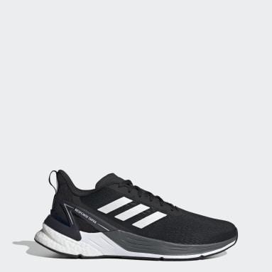 Men Running Black Response Super Shoes