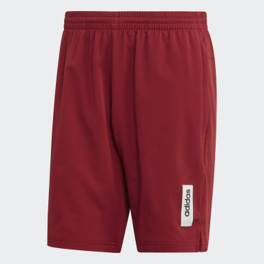 Shorts Brilliant Basics Granate Hombre Diseño Deportivo