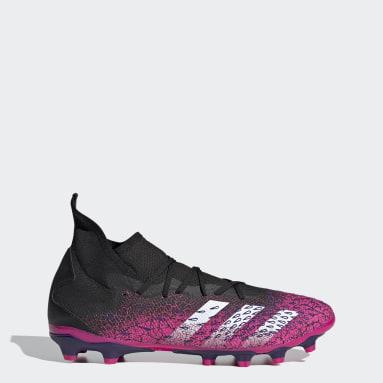 Bota de fútbol Predator Freak.3 multiterreno Negro Hombre Fútbol