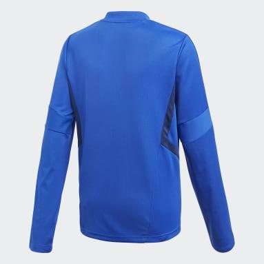 Camiseta entrenamiento Tiro 19 Azul Niño Gimnasio Y Entrenamiento