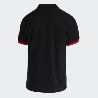 Camisa Polo 3-Stripes CR Flamengo Preto Homem Futebol