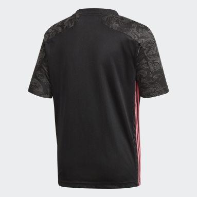Camiseta Tercer Uniforme Real Madrid 20/21 Negro Niño Fútbol