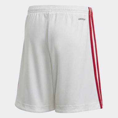 Kids Football White Manchester United 20/21 Third Shorts