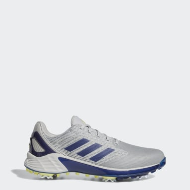 Men Golf Grey ZG21 Motion Recycled Polyester Golf Shoes