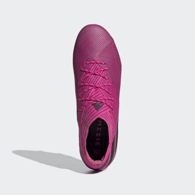 Chaussure Nemeziz 19.1 Terrain souple Rose Femmes Football