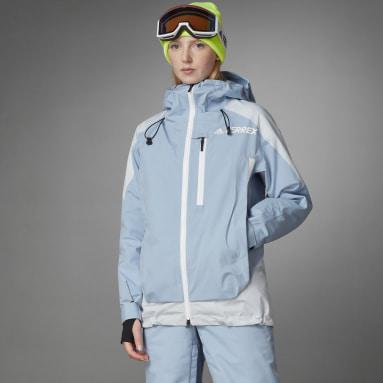 Women Winter Sports Blue Terrex MYSHELTER Snow 2-Layer Insulated Jacket