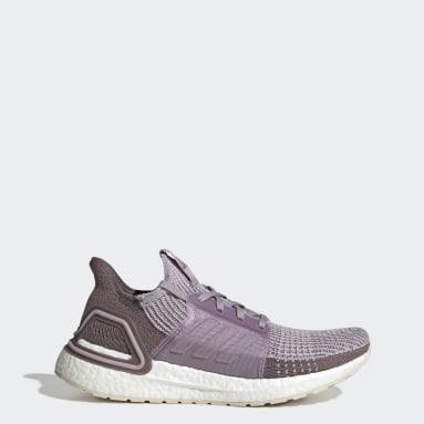 ผู้หญิง วิ่ง สีม่วง รองเท้า Ultraboost 19