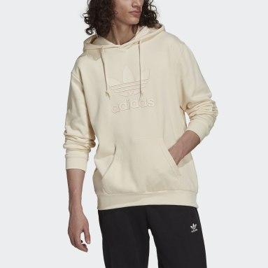 Hoodie Graphics Trefoil Series Blanc Hommes Originals