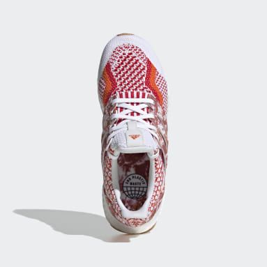 Women Running White Ultraboost 5.0 DNA Nature Lab Shoes