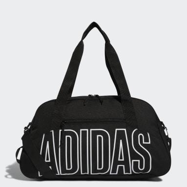 Swim Black Graphic Duffel Bag